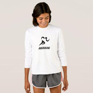laufender langer Hülsen-T - Shirt