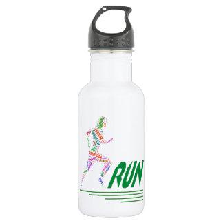 Laufendes Mädchen Trinkflasche