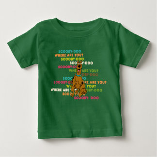 "Laufendes Scooby-Doo ""wo sind Sie? "" Baby T-shirt"