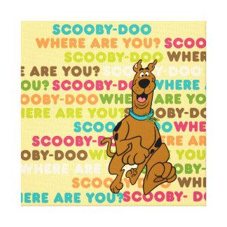 """Laufendes Scooby-Doo """"wo sind Sie? """" Gespannte Galerie Drucke"""