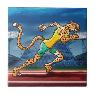 Läufer-Gepard Keramikfliese