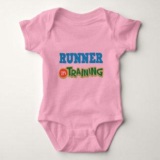 Läufer im Training (Zukunft) Baby Strampler