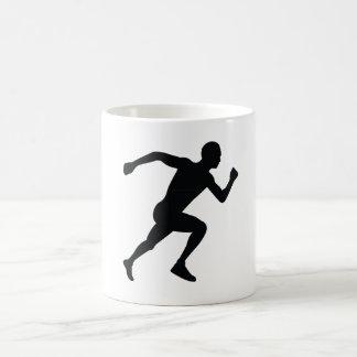 Läufer Kaffeetasse