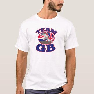 Läufer-Leichtathletik Team-GBs Großbritannien T-Shirt
