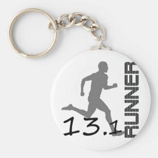 Läufer-Zonen-Halbmarathongeschenke und -kleid Schlüsselanhänger
