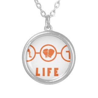 Laufkampf die - der Leben ist! Selbst Gestaltete Halskette