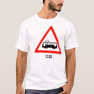 Laufkatze-Zeichen T-Shirt