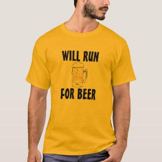 Läuft für Bier T-Shirt