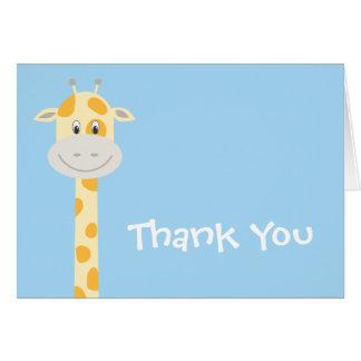 Launische Giraffe Karte