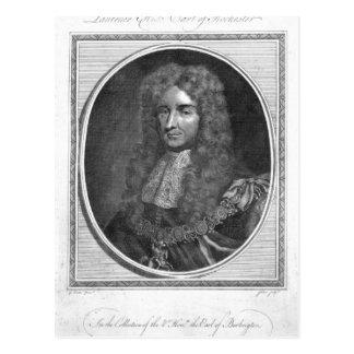 Laurence Hyde, 1. Graf von Rochester Postkarte