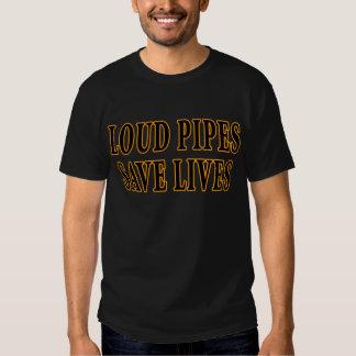 Laute Rohre retten die Leben Tshirt