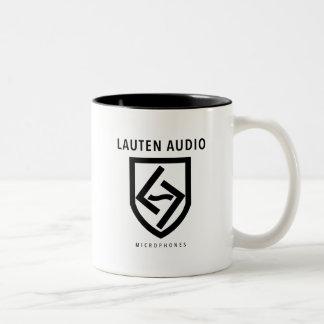 LAUTEN AUDIOmikrofon-KAFFEE-TASSE Zweifarbige Tasse