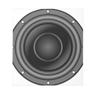 Lauter Lautsprecher Notizblock
