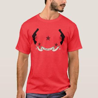 lautes Gewehrschwarzes T-Shirt