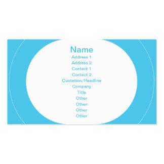 Lautes Summen - Blau Visitenkarten