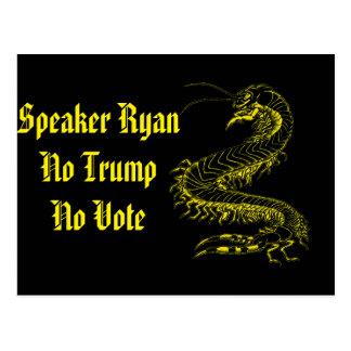 Lautsprecher Ryan kein Trumpf keine Postkarte