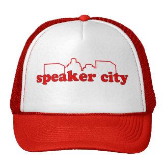 Lautsprecher-Stadt-Fernlastfahrer-Hut Retrokultcap