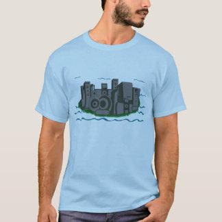 Lautsprecher-Stadt T-Shirt