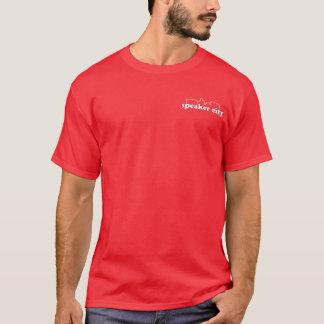 Lautsprecher-Stadt-Taschen-Logo-Shirt T-Shirt