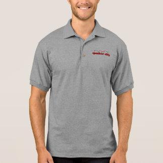 Lautsprecher-Stadt-Taschen-Logo-T-Shirts und Polo