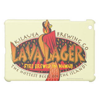 Lava-Lager-Hawaiianer-Bier iPad Mini Hülle