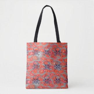 Lava-Schädel-Taschentasche Tasche