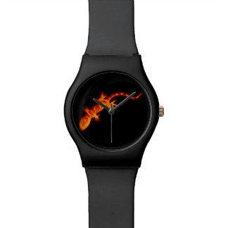 LavaGecko Armbanduhr