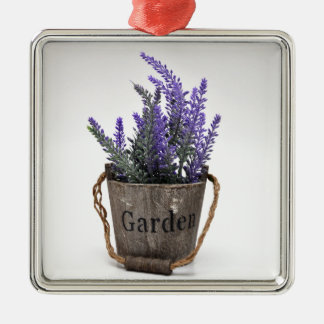 lavander silbernes ornament