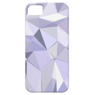 Lavendel-abstrakter niedriger Polygon-Hintergrund iPhone 5 Hülle