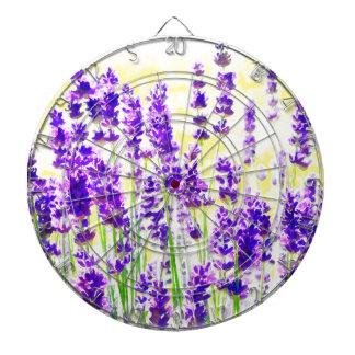 Lavendel-Aquarell Dartscheibe