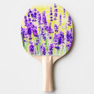 Lavendel-Aquarell Tischtennis Schläger