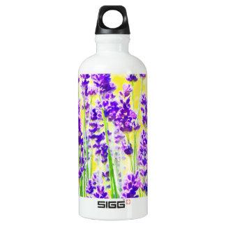 Lavendel-Aquarell Wasserflasche