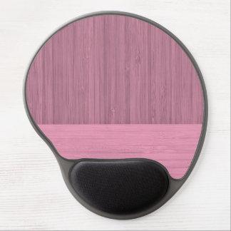 Lavendel-Bambusgrenzhölzerner Korn-Blick Gel Mouse Matten