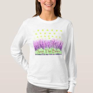 Lavendel-Bienen T-Shirt