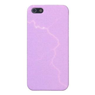 Lavendel-Blitz 4/4s iPhone 5 Schutzhülle