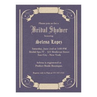 Lavendel-Brautparty-Einladungen