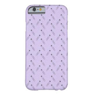 Lavendel-Büroklammer-Telefonkasten Barely There iPhone 6 Hülle