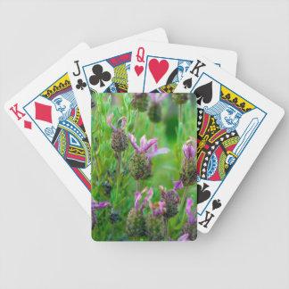 Lavendel-Fahrrad-Spielkarten Bicycle Spielkarten