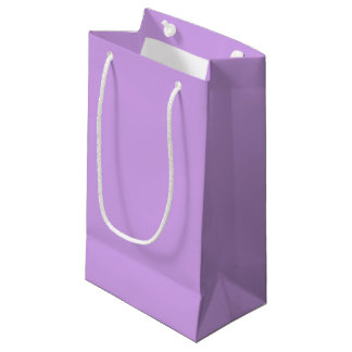Lavendel-Farbe Kleine Geschenktüte