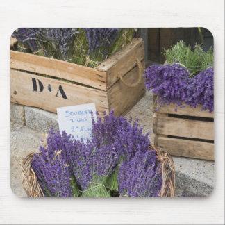 Lavendel für Verkauf, Provence, Frankreich Mousepad
