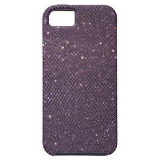 Lavendel-Glitzer iPhone 5 Case