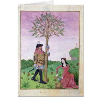 Lavendel, Hellebore u. Verwandter der Gurke Karte
