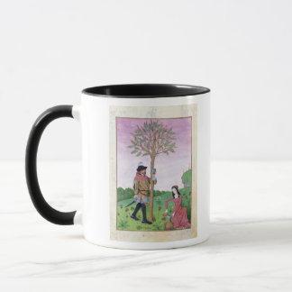 Lavendel, Hellebore u. Verwandter der Gurke Tasse