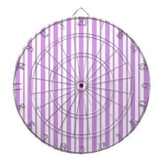 Lavendel-horizontaler Nadelstreifen Dartscheibe