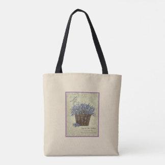 Lavendel-Illustration keine 5 Tasche