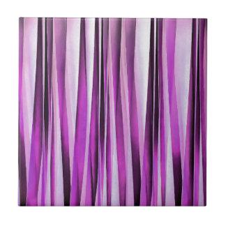 Lavendel-, Iris-und Trauben-Stripy Muster Keramikfliese