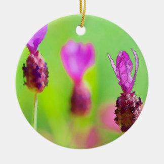 Lavendel-Knospen-Malerei-Keramik-Verzierung Keramik Ornament