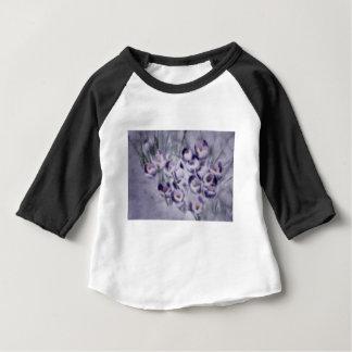 Lavendel-Krokus-Flecken Baby T-shirt