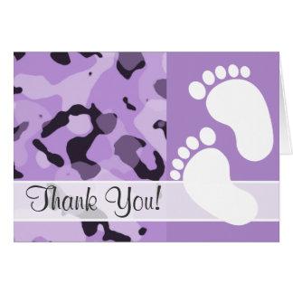 Lavendel-lila Camouflage; Tarnung Karte