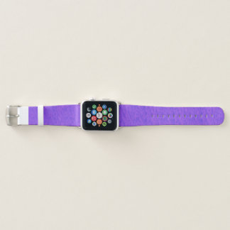 Lavendel-lila Wäsche Apple Watch Armband